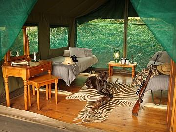 SUDAFRICA LUXURY TENDED CAMP SAFARIS